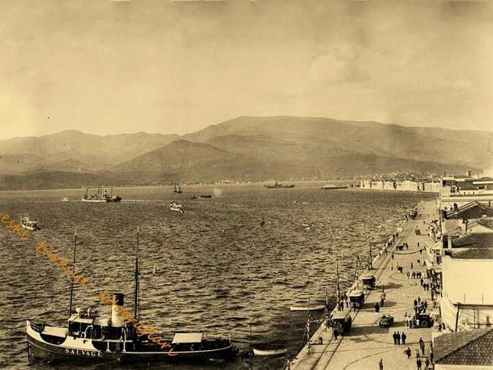 Kordon.1930 lar.İzmir. .