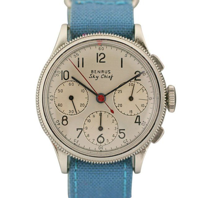 Benrus Sky Chief  http://www.thefancy.com/things/297624623/Benrus-Sky-Chief-Vintage-Chronograph