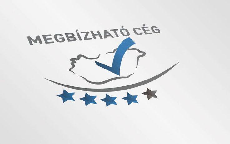 Megbízható cég logó és arculatterve - Valahonnan már ismerős lehet ez a szlogen, viszont partnerünk, más szinten szeretné minősíteni a cégeket.
