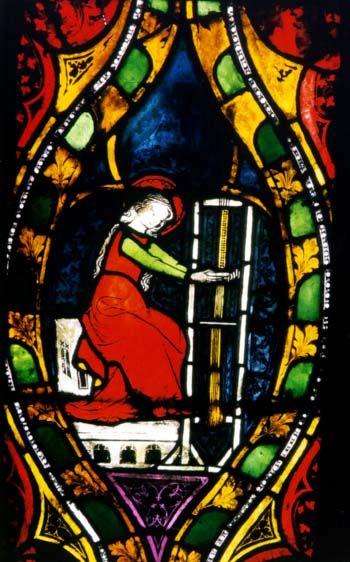 Maria am Webstuhl, Frauenkirche, Esslingen, c. 1330.