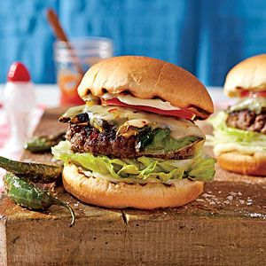 Serrano Pepper Burgers from Southern Living (recipe by Craig Wiseman, songwriter friend to Florida Georgia Line)
