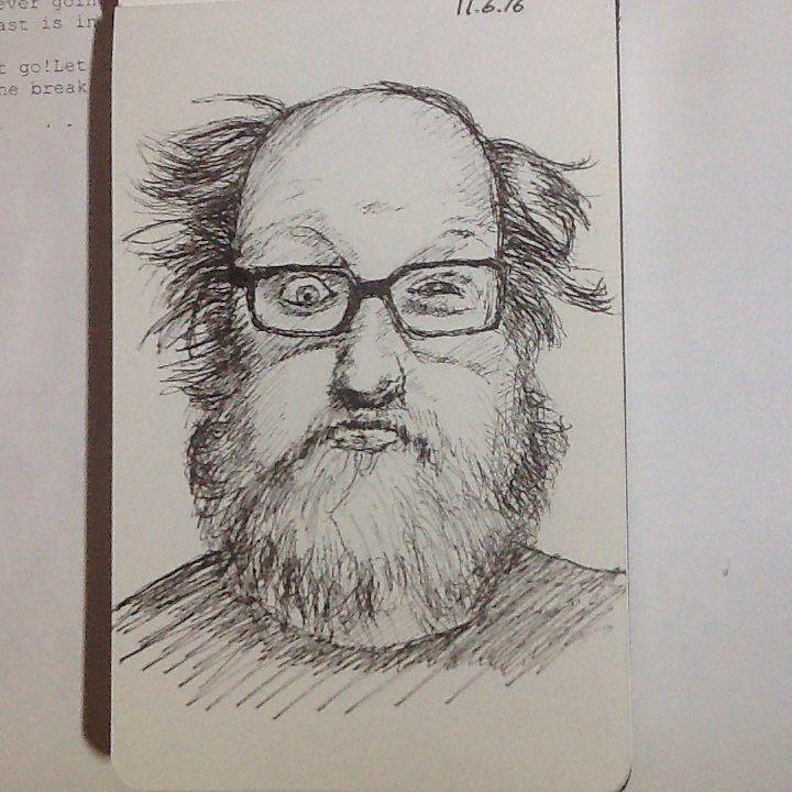 A beardster from #redditgetsdrawn #tw #drawing #sketch #portrait