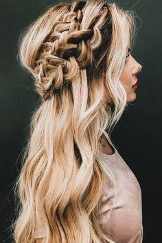 prettiest wavy braids