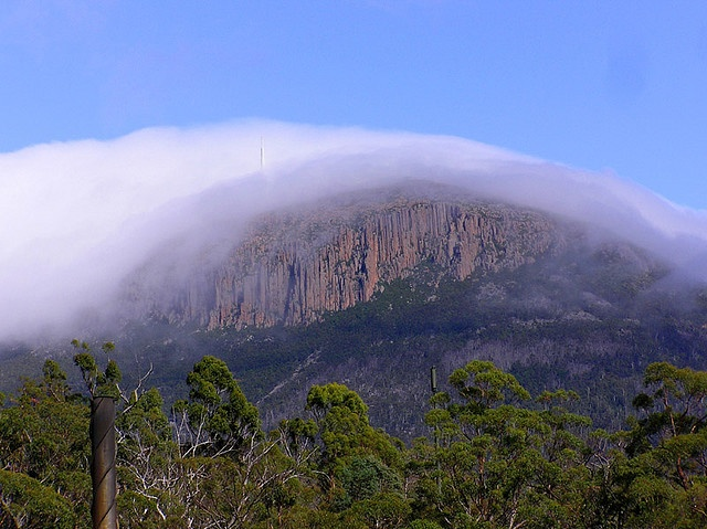 Mt. Wellington, Hobart, Tasmania