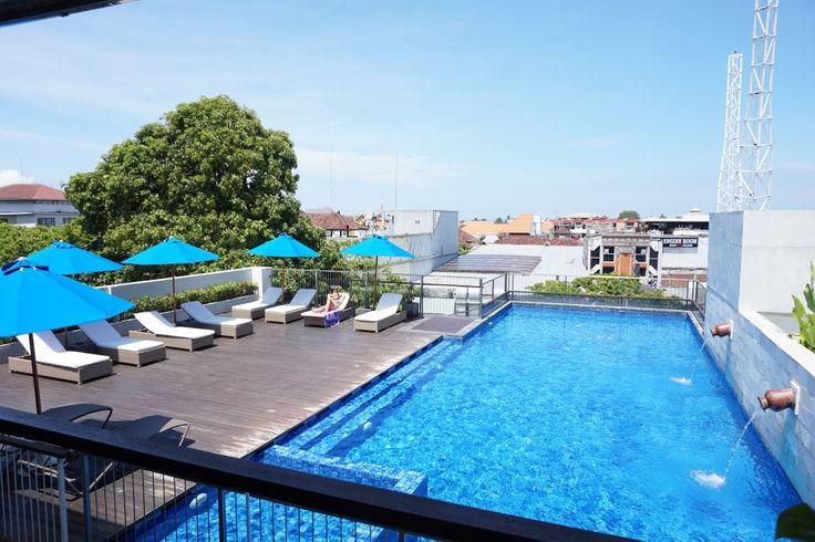 Let's swim, our rooftop pool is waiting for you.. #J4hotelslegian #J4hotels #LifestyleHotel #Lifestyle #Hotel #Holiday #InstaTravel #HotelLegianBali #Vacation #Weekend #Young #Wanderlust #Destination #LegianStreet #Honeymoon #Bali #Indonesia #Rooftop #SkyPool #BlueSky #Sunbath #Tan #Blue #PoolView #Height #Afternoon #City View