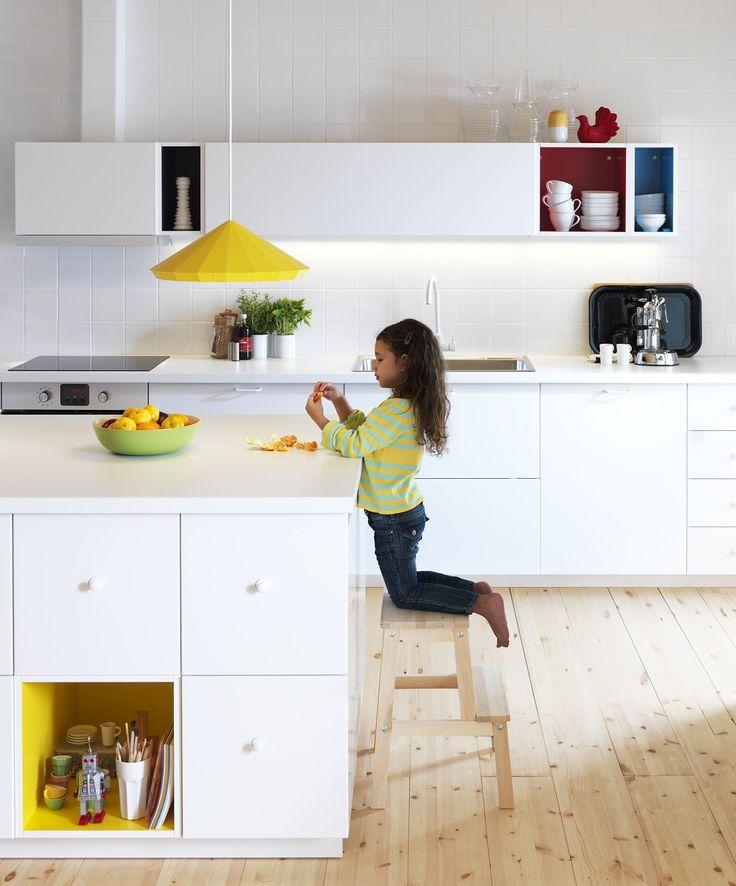28 best Interieur-Ikea keuken images on Pinterest Ikea kitchen - ikea kleine küchen