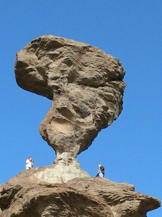 Balanced Rock. Southern Idaho. Been here. Love the park next to it.  Crystal clear waters.