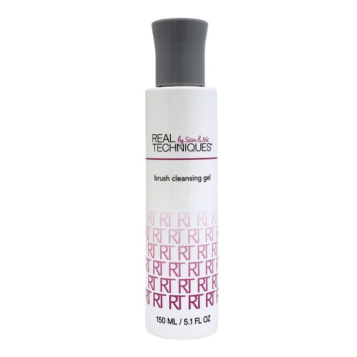 Real Techniques Makeup Brush Cleansing Gel, Multicolor