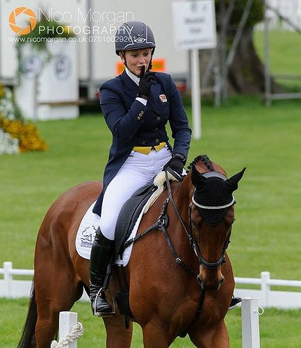 *whispers* Gemma Tattersall Eventing after her test yesterday.   por Nico....