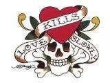 Ed Hardy Love kills Slowly Tattoo