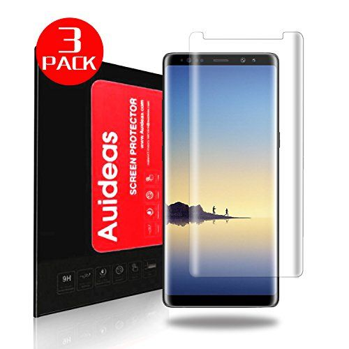 Galaxy Note8 Screen Protector [3-Pack], Auideas [Case Friendly] 3D PET HD Screen Protector HD Clear Anti-Bubble Film for Samsung Galaxy Note8.  https://topcellulardeals.com/product/galaxy-note8-screen-protector-3-pack-auideas-case-friendly-3d-pet-hd-screen-protector-hd-clear-anti-bubble-film-for-samsung-galaxy-note8/  [HD Soft PET. It is not Glass] Full Coverage, Fit PET Film – Made for Samsung Galaxy Note 8 Super display including. Anti-scratch: Special scratch-resista
