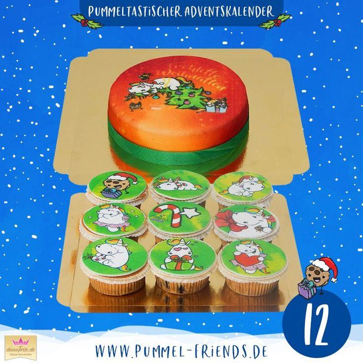 Gemeinsam mit @deinetorte verlosen wir eine pummeltastische Weihnachtstorte ?…