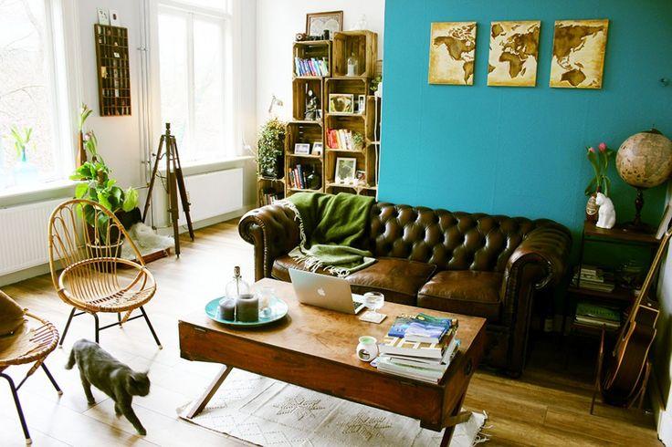 Meer dan 1000 idee n over woonkamer turquoise op pinterest strandhuis inrichting florida huis - Blauwe turquoise decoratie ...