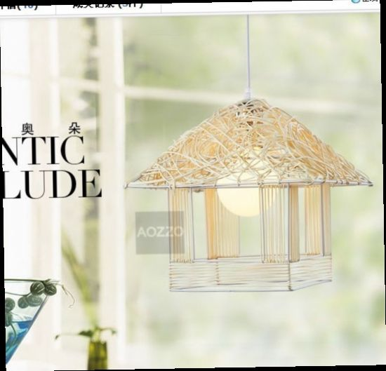 135.00$  Watch here - http://alif13.worldwells.pw/go.php?t=775565421 - FREE SHIPPING 3PCS EMS pendant light restaurant lamp hallway lights lamps lighting Birdcage 135.00$