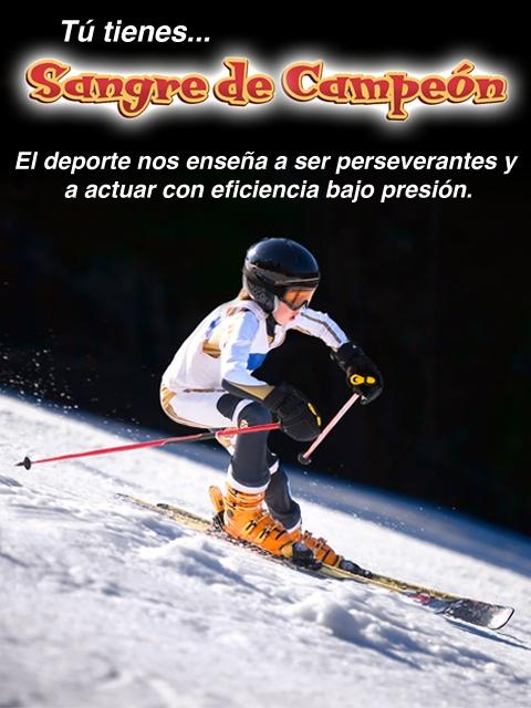 """""""El deporte nos enseña a ser perseverantes y a actuar con eficiencia bajo presión."""" Carlos Cuauhtémoc Sánchez"""