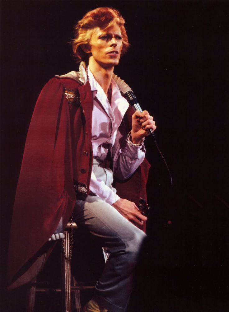 David Bowie - Diamond Dogs tour 1974