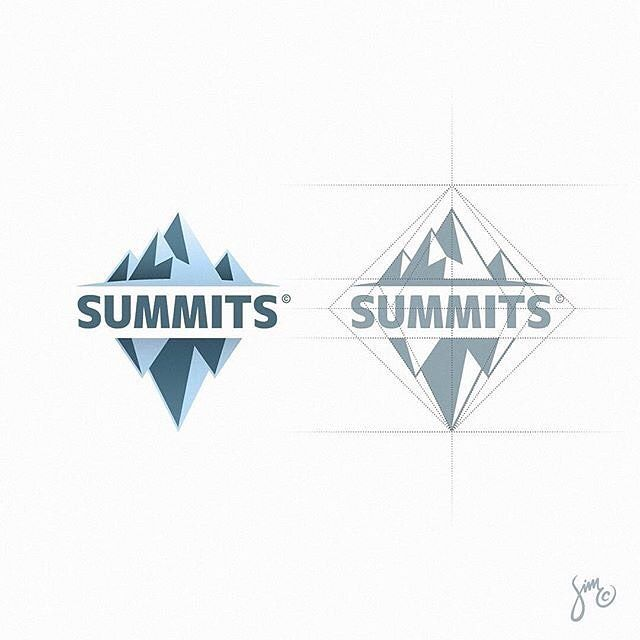 """913 Likes, 4 Comments - Learn Logo Design (@learnlogodesign) on Instagram: """"The Summits by @mr.simc - ➡️ logocore.com/learnlogodesign - LEARN LOGO DESIGN LINK IN BIO -…"""""""