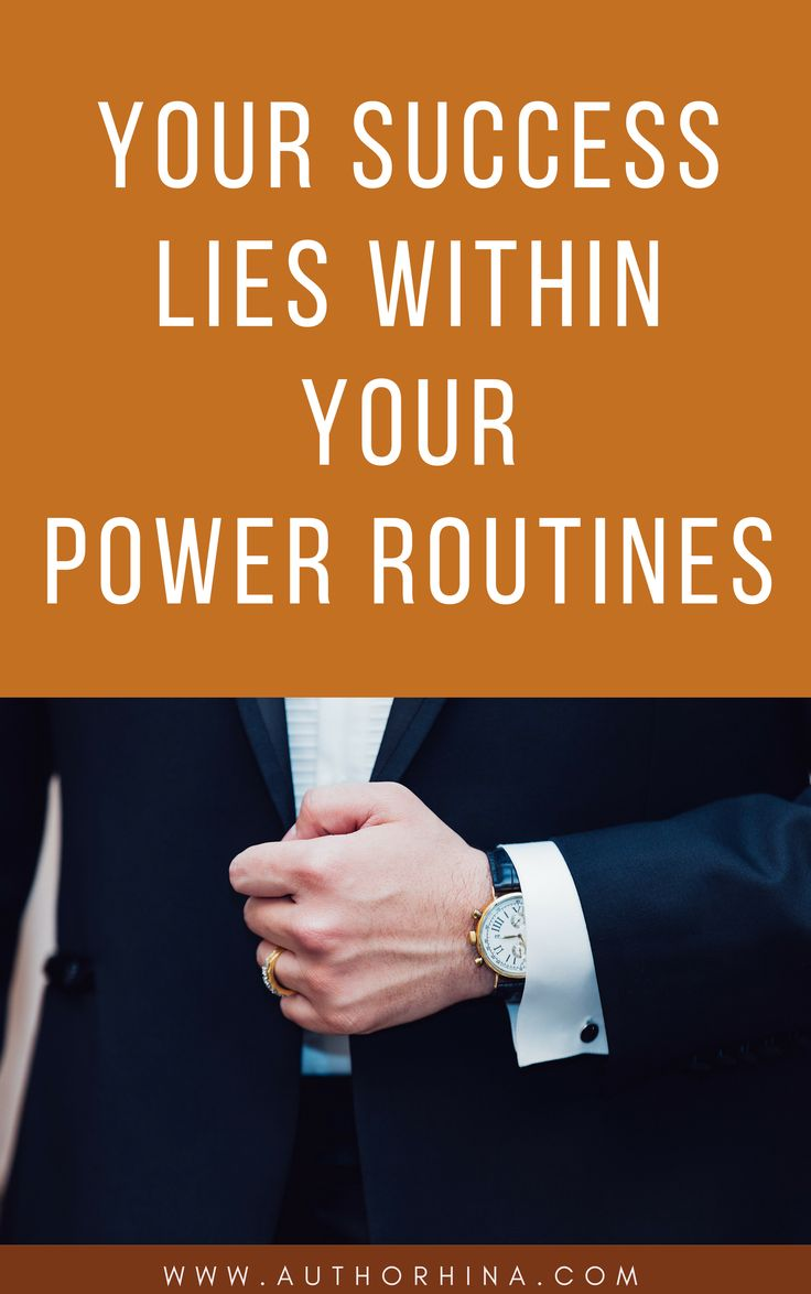 What is your definition of success and how much does it mean to you?If it does, Create Powerful Daily Routines that work on autopilot. How? Read this Post.
