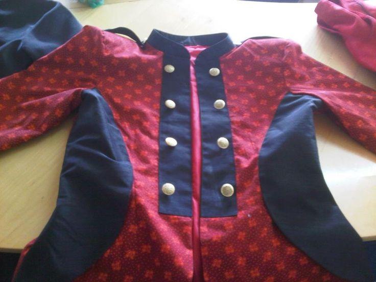 Seshoeshoe / seshweshwe military jacket