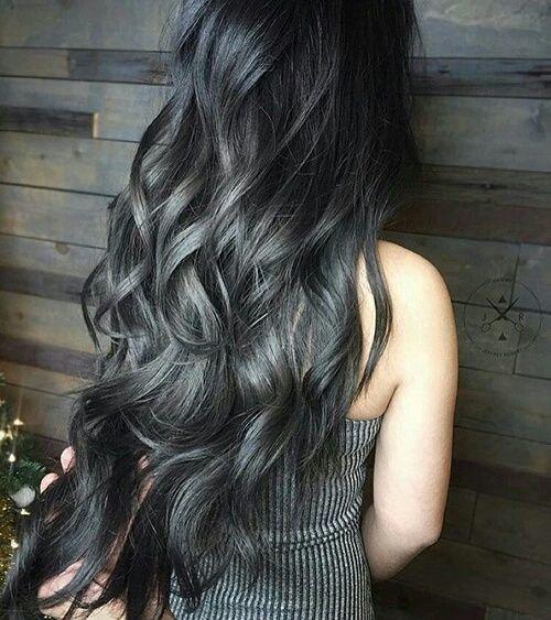 Colores de cabello oscuros 2018