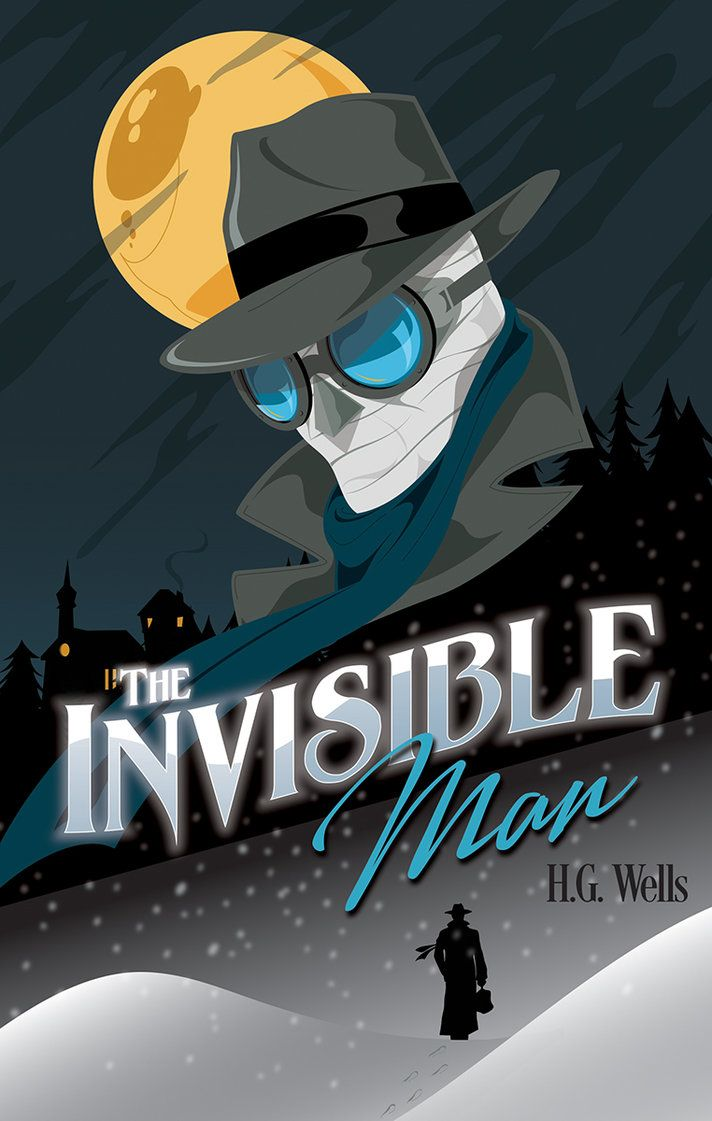 best images about h g wells paper invisible i ve partnered guys from rock paper books to create some cool new covers for some very classic novels the books will be available through their