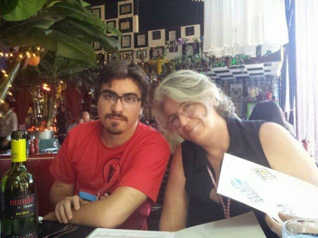 02 dos meus orgulhos! Laura Urrejole minha esposa e Homero Feindt Silveira meu filho.