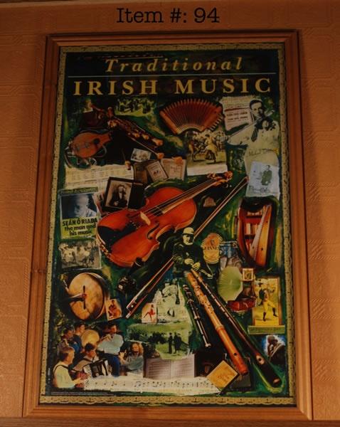 Irish country music inspired the Western country music
