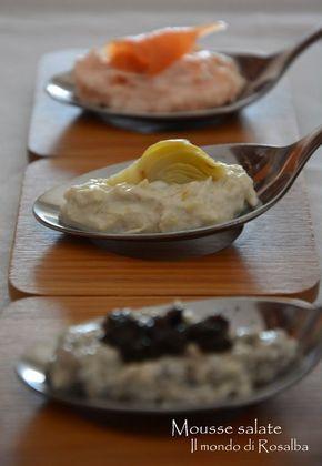 Mousse salate, Ricetta Bimby, Ricetta per Finger food, Ricetta per Buffet, Aperitivo, Ricetta per le feste, Ricetta economica, Ricetta veloce,Ricetta facile