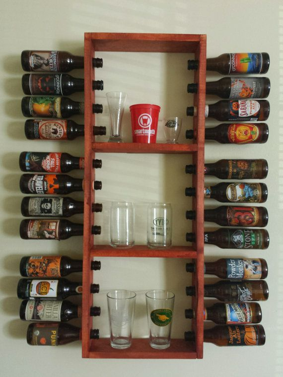 beer bottle rack display awesome brewery and