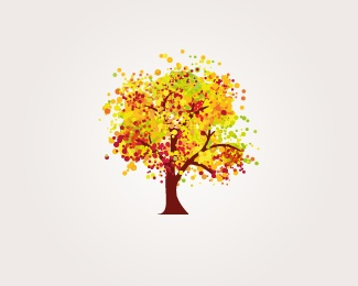 Another #vector Icon no 110 uploaded by logomaker Use it To Create Your Logo  #tree #orange #forest #wood #trees #nice #tree #leaves #leaf