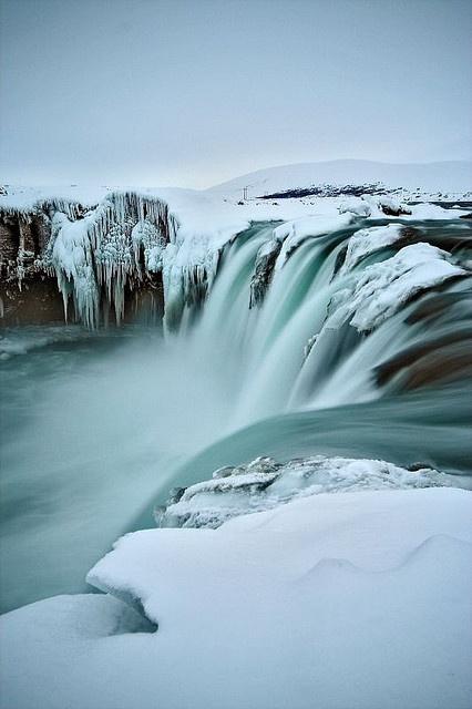 Godafoss, Iceland #Travel #Trotting.