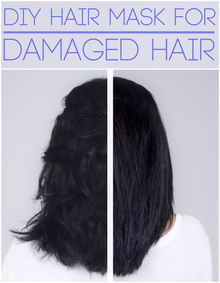 treatment mask for damaged hair