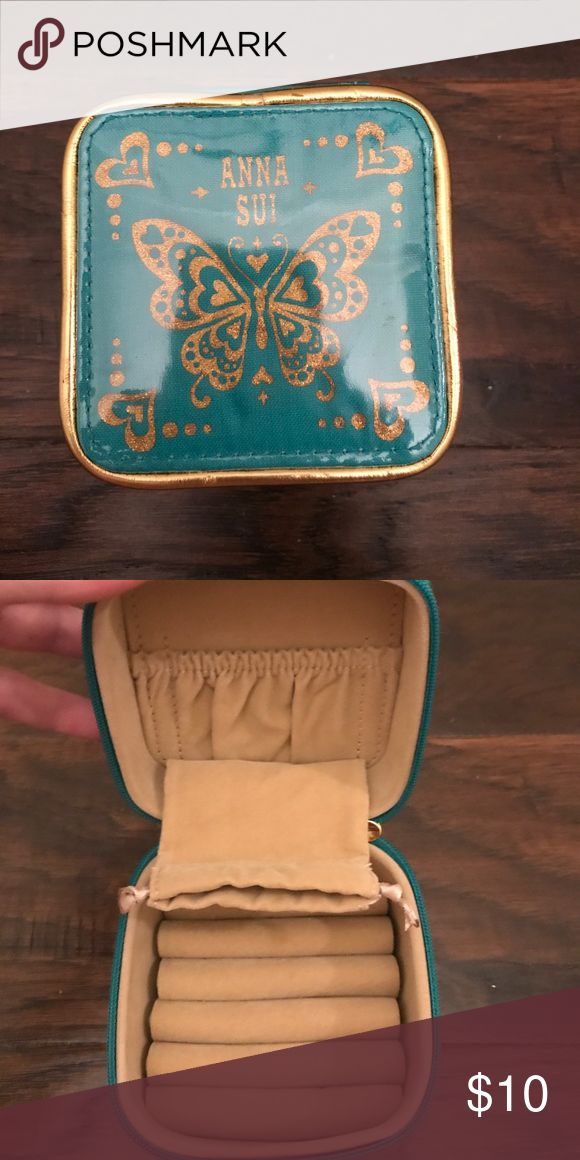 Anna Sui Jewelry Case Anna Sui travel jewelry Case. New Anna Sui Bags Travel Bags