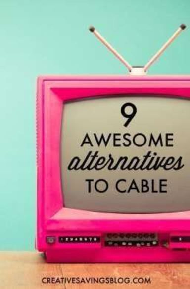 With streaming sites, subscription services, and special bundles are popping up all over the place, it`s easier than ever to say goodbye to cable. These 9 awesome cable TV alternatives will keep more money in your pocket, and give you even greater entertainment options than you could ever ask for!