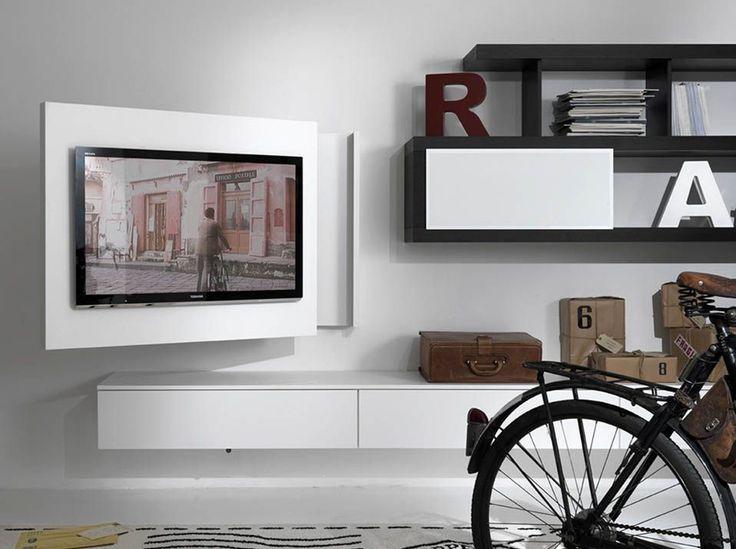 oltre 25 fantastiche idee su mobili porta tv su pinterest ... - Mobili Tv Bassi Moderni