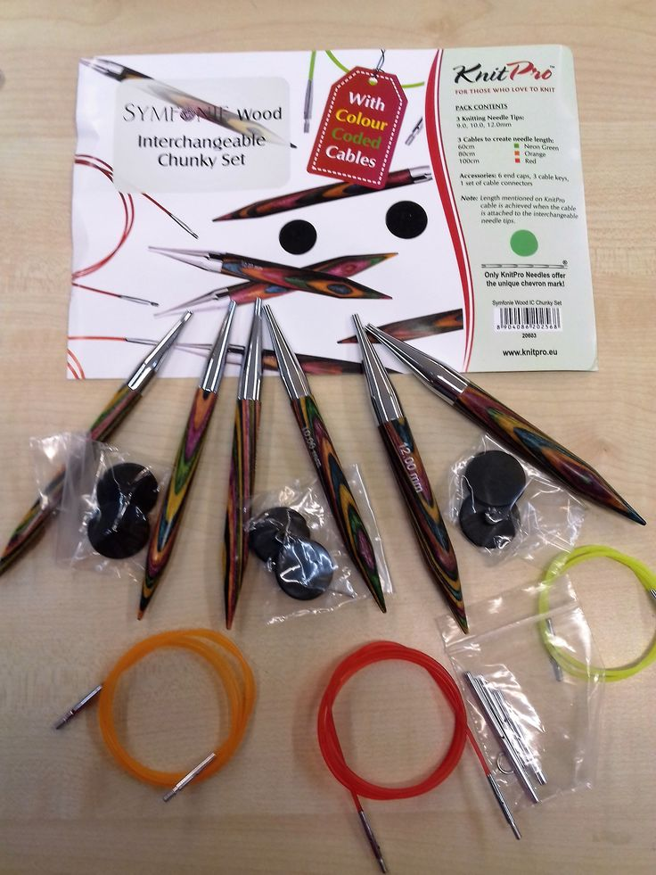 Knit Pro Symfonie Fixed circular knitting needles from 2mm to 12mm and 8 lengths