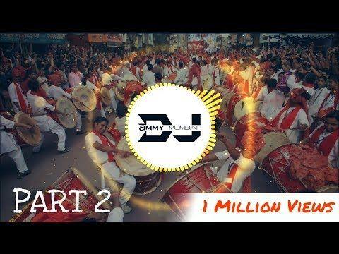 The power of puneri dhol tasha (part 2) dj ammy mumbai youtube.