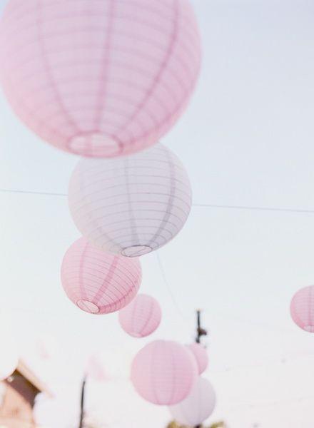 pink lanterns - perfect