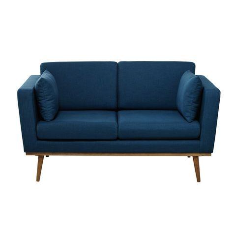 Die besten 25+ Blaues sofa Ideen auf Pinterest blaue Sofas - wandfarbe petrol