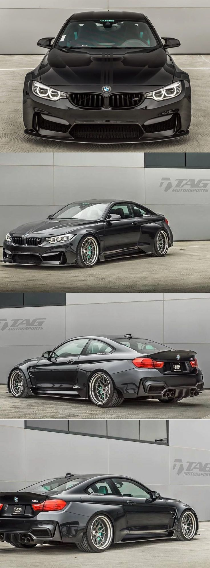 The Best-Looking BMW M4 by TAG Motorsports • Get more information of this car at tuningcult.com/ also get all the latest Car news, Latest Motor News, Latest Automobile News and tuning news.  #RePin by AT Social Media Marketing - Pinterest Marketing Specialists ATSocialMedia.co.uk