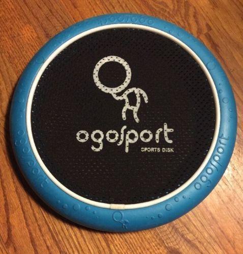 Single-12-034-Teal-Blue-Ogosport-Foam-Sports-Disk-Frisbee-EUC