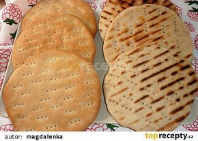 Polární chléb (severské chlebové placky) recept - TopRecepty.cz
