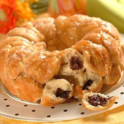 monkey bread in a jar | Chocolate Filled Monkey Bread | Bread Recipes