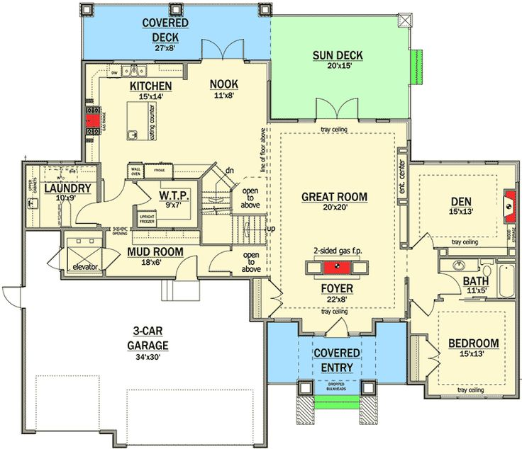 Amazing Prairie Style Home Plan - 81636AB   Architectural Designs - House Plans