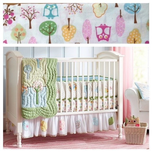 Pottery Barn Kids Brooke Crib Girls Nursery Bedding Set