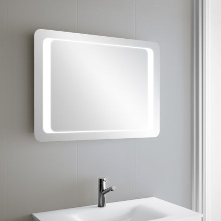 19 best miroir de salle de bain en 80 cm images on pinterest bathroom mirrors uk electrical. Black Bedroom Furniture Sets. Home Design Ideas