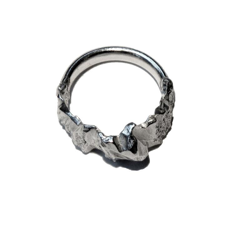 Image of Glacier face ring