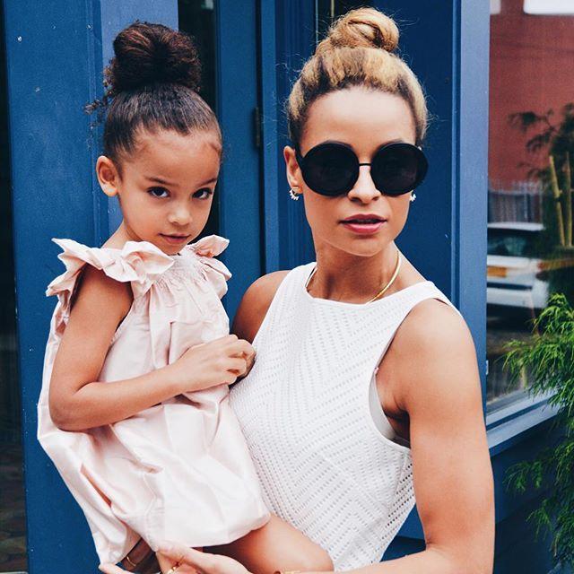 Chic Mommy and kiddo elegant summer style