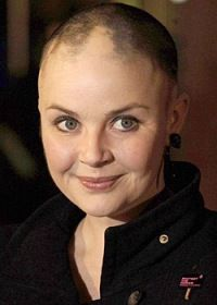 Gail Porter gives advice about coping with hair loss. After Losing All Her Hair to Alopecia Areata in 2004, Gail Porter's Eyebrows and Eyelashes Have Regrown as Have Patches of Her Scalp Hair.