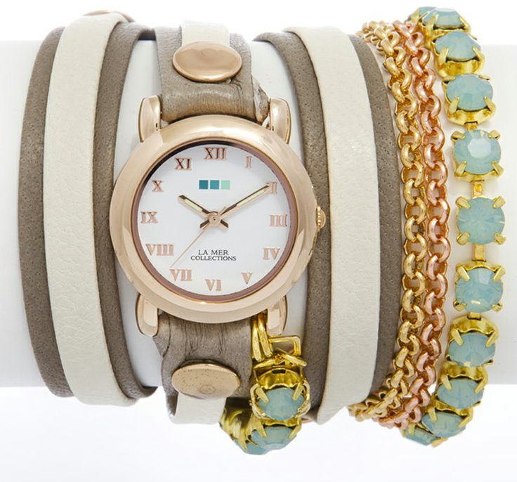La Mer Core collection Chandelier Crystal Chain St. Tropez Watch LMMULTI5002